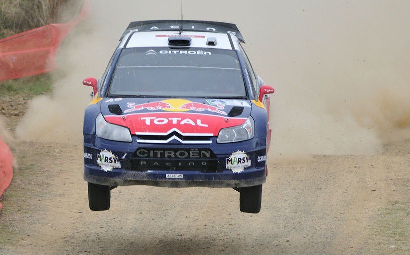 French TV channel used GPS for the rally racing coverage