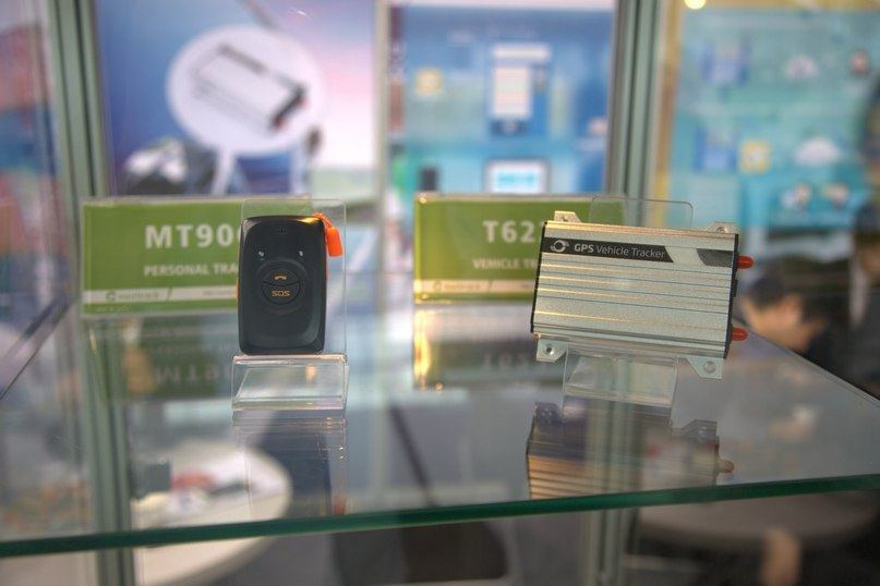 Meitrack T622 and MT90G on a CeBIT showcase