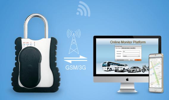 GPS padlock to keep an eye on your goods