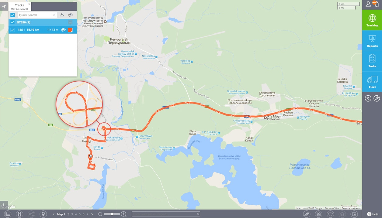 Concox GT350 Car track Square GPS