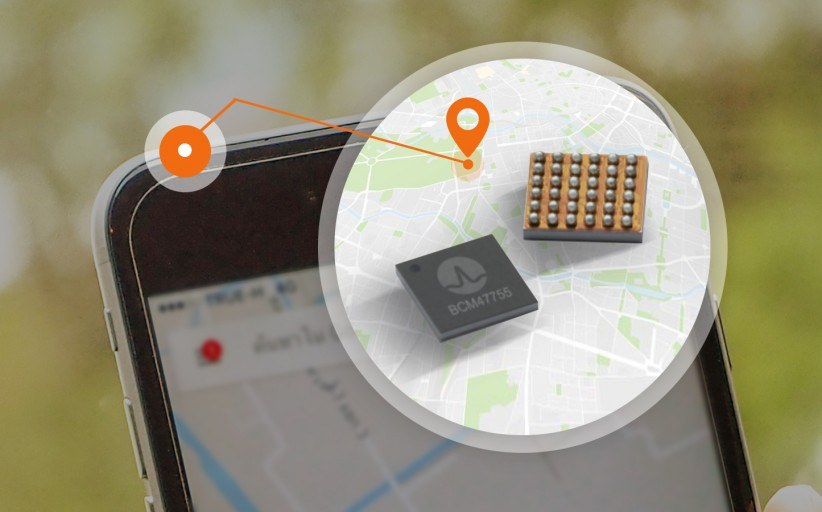 Broadcom's newest dual-frequency tracking chip BCM47755