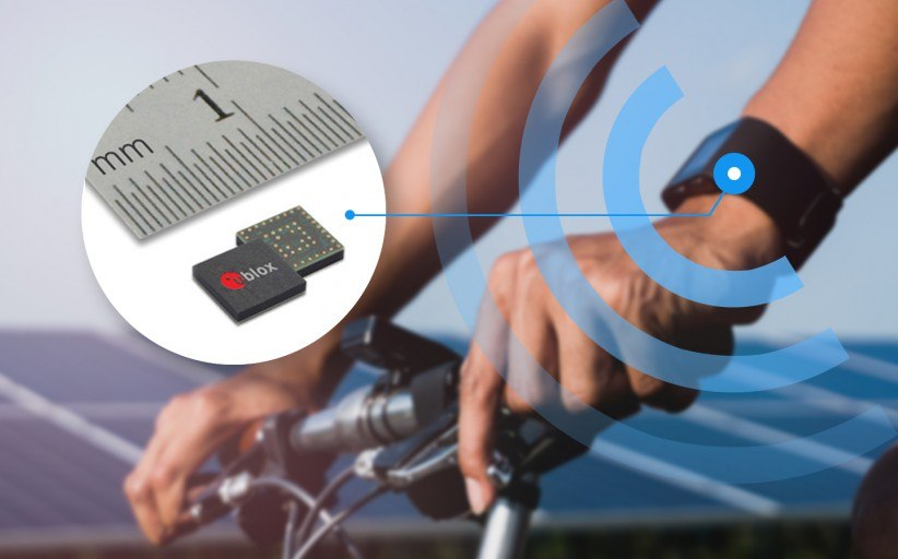 U-blox announced a new GNSS SiP for small consumer products
