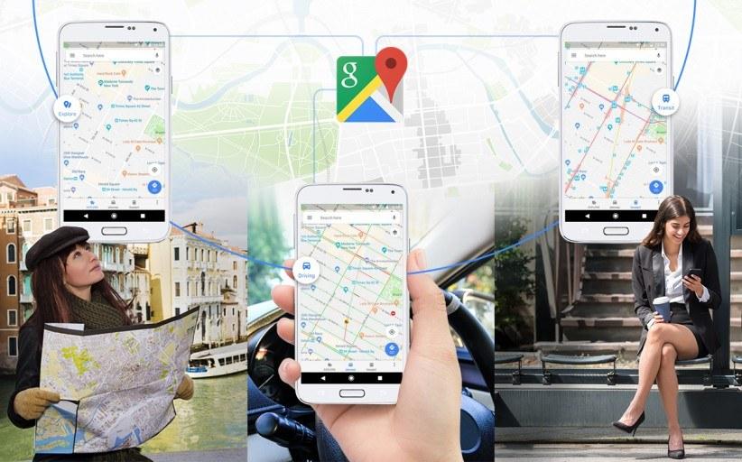 Google Maps' fresh look