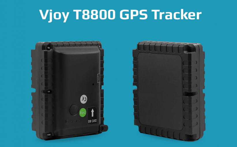 Vjoy T8800 – waterproof magnetic GPS tracker