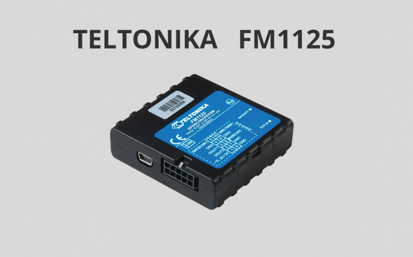 Teltonika FM1125: A pinnacle of portable AVL trackers