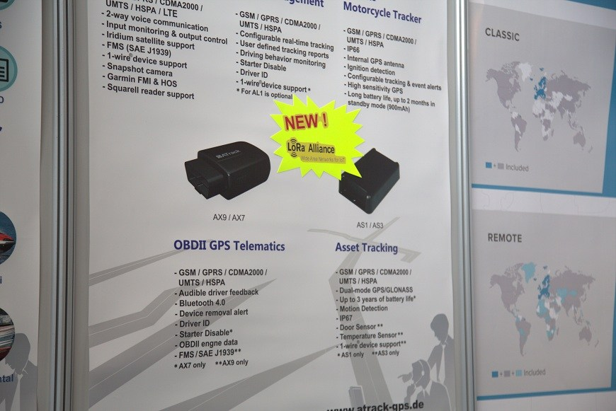 ATrack presents new OBDII and asset devices at CeBIT