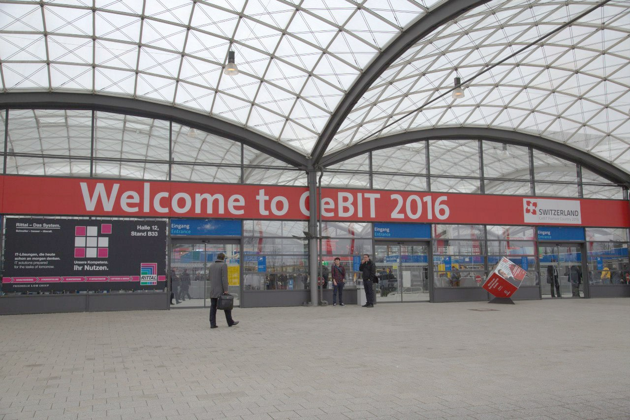 5 trends from the Hall 13 of CeBIT 2016
