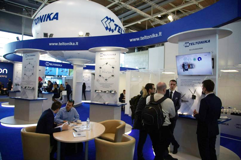 Teltonika shows 3 new and 2 projected devices