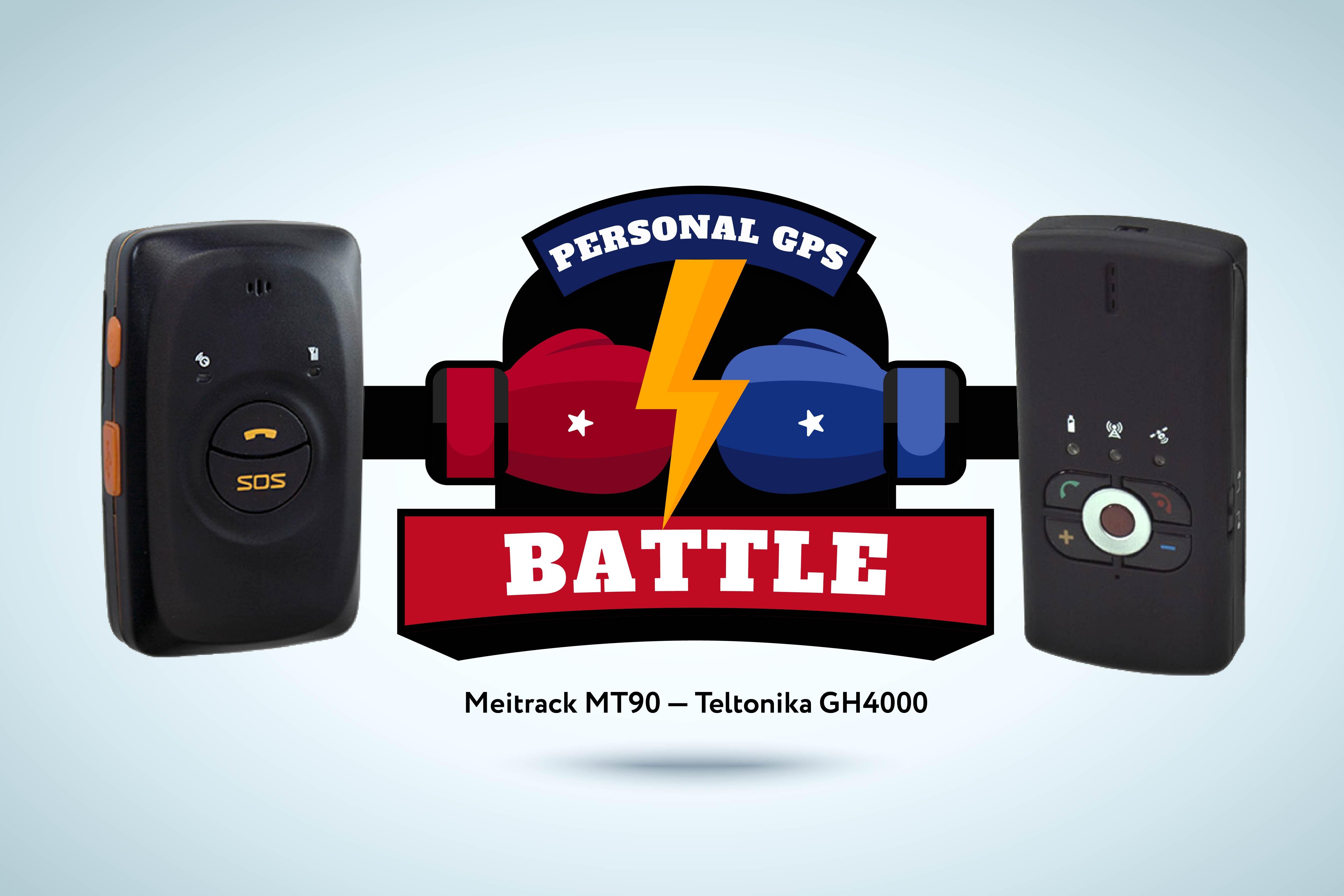 Teltonika GH4000 vs Meitrack MT90: Battle of personal GPS trackers