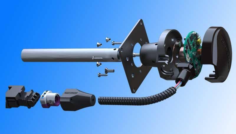 Omnicomm LLS 30160: new fuel sensor