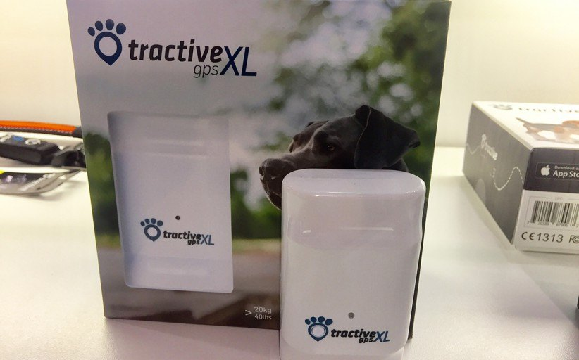 Pet tracker with XL battery by Tractive