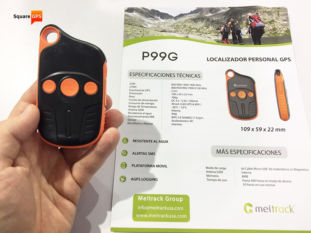 Meitrack P99G (front)