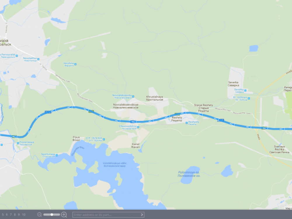 Route Galileosky