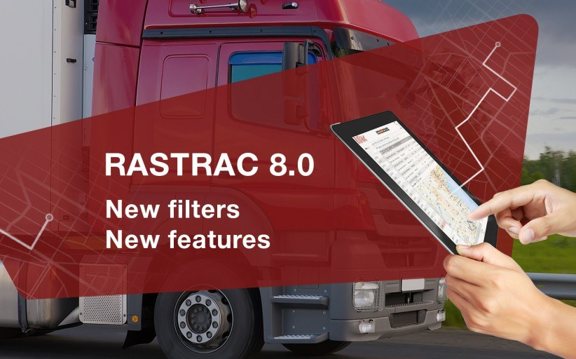 Rastrac Update Version 8.0