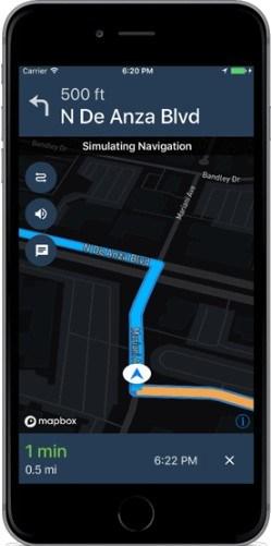 Mapbox: updated Navigation SDK