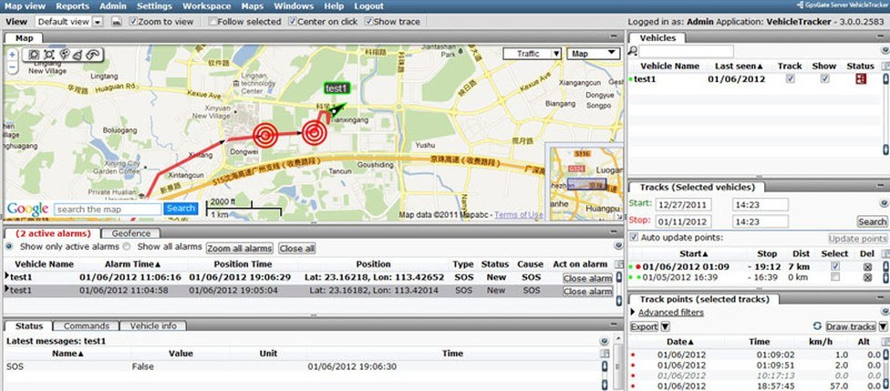 GPSGATE UI5