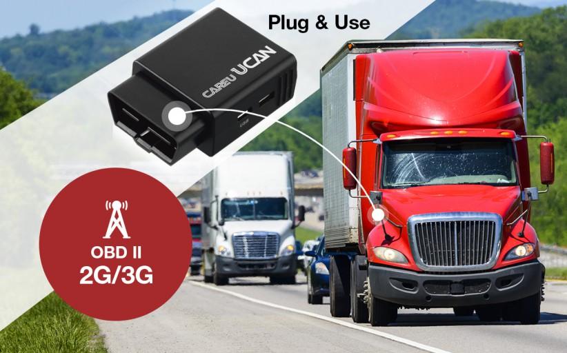 SYSTECH presents CAREU UCAN 2G/3G OBD-II Dongle
