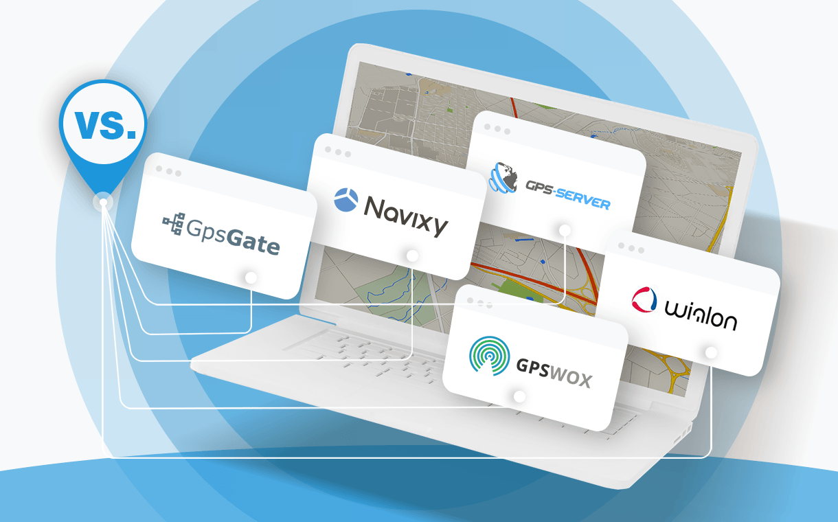 TOP 5 GPS tracking platforms for providers