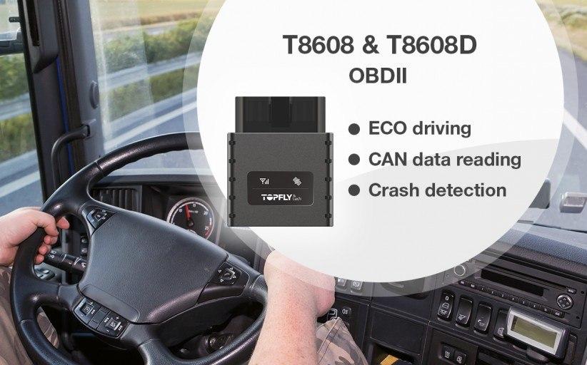 TopFlyTech announced new OBDll GPS trackers