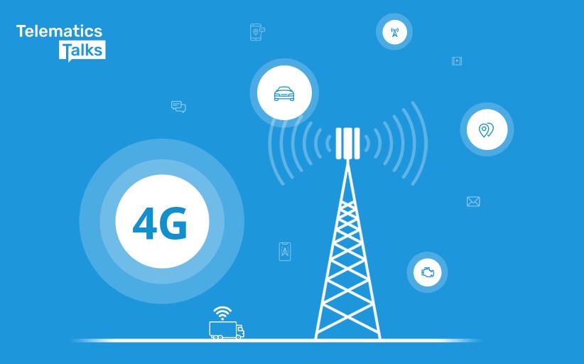 4G advantages for Fleet Telematics