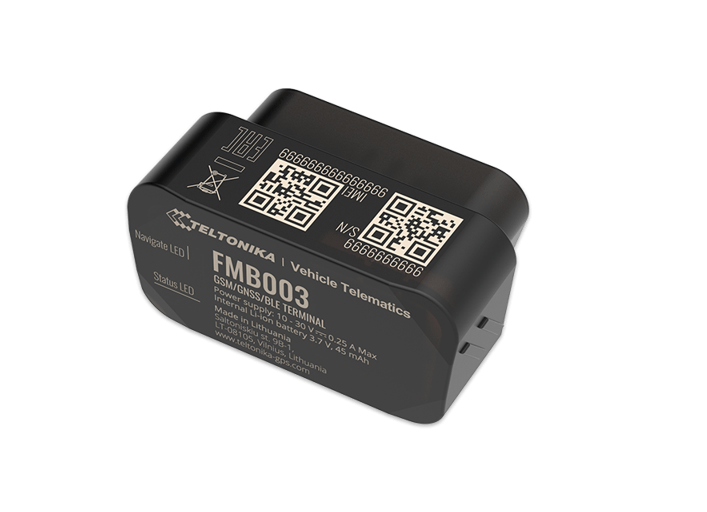 New OBD devices from Teltonika: FMB003, FMB002 and FMB020