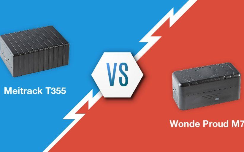 Meitrack T355 vs Wonde proud M7