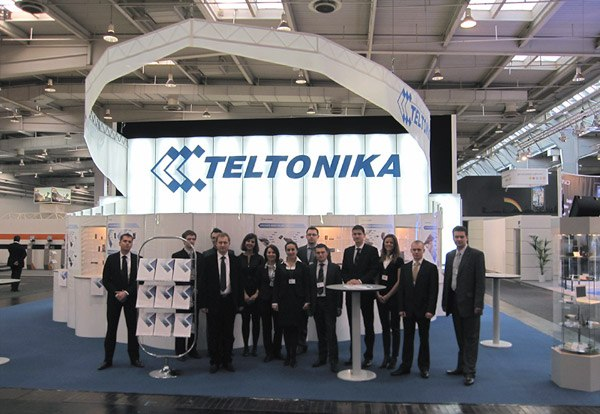 Teltonika is to expand booth at CeBIT 2016