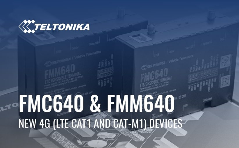 Teltonika announces new 4G (LTE CAT1 and CAT-M1) devices