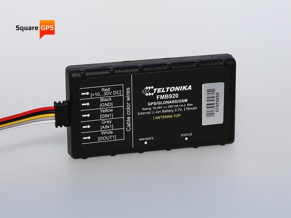 Teltonika FMB900 and FMB920 are quite compact devices which are easy to install